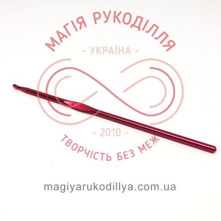 Гачок для в'язання метал без ручки h15см d4,0 - кольоровий