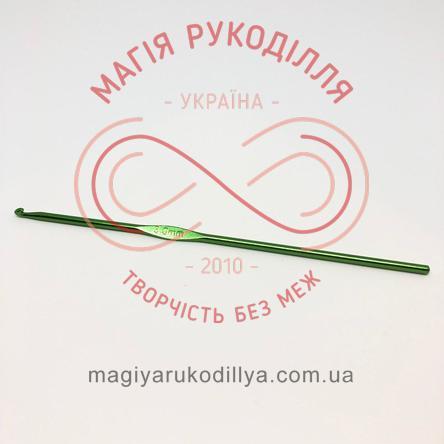 Гачок для в'язання метал без ручки h15см d3,0 - кольоровий
