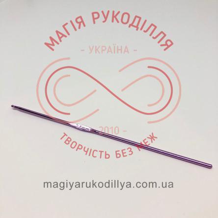 Гачок для в'язання метал без ручки h15см d2,5
