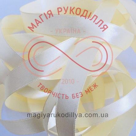 Стрічка Peri атласна 26мм (Китай) - №005 відтінки молочного