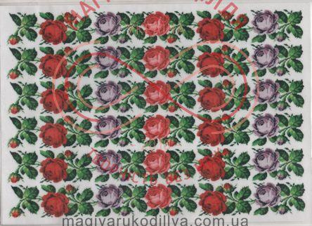 Кондитерська вафельна картинка рисовий папір 30*21 - Троянди