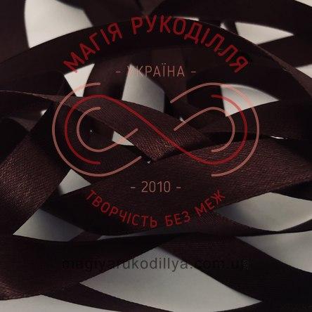 Стрічка Peri атласна 10мм(Китай) - №185 відтінки коричневого