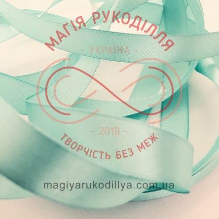 Стрічка Peri атласна 26мм (Китай) - №133 відтінки блакитного