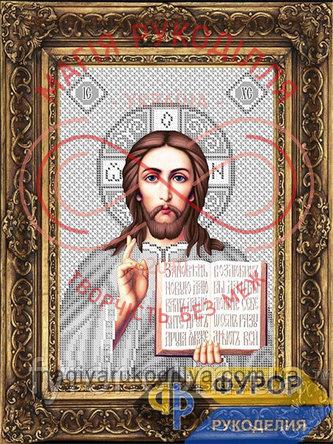 Схема для вишивання бісером ікона - ИБ4-103-3 Господь Вседержитель