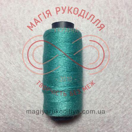 Нитка для ручного шиття №10 - відтінки бірюзового 10288