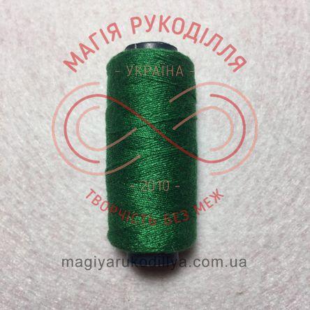 Нитка для ручного шиття №10 - відтінки зеленого