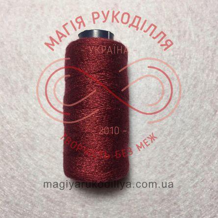 Нитка для ручного шиття №10 - відтінки бордового