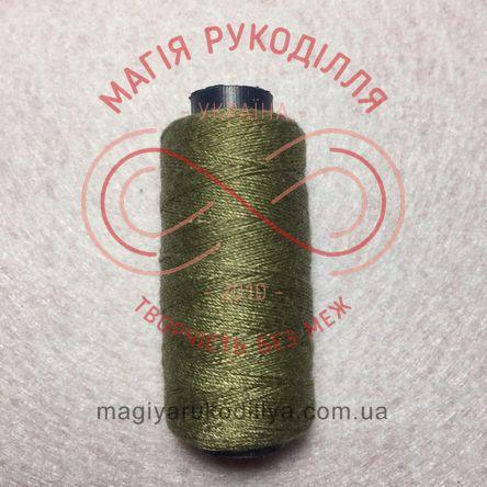 Нитка для ручного шиття №10 - відтінки хакі 10295