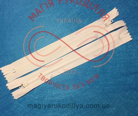 Блискавка для спідниці (Китай) 18см (тип 3) - №101 білий