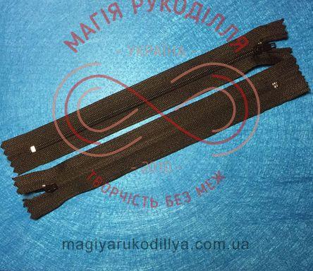 Блискавка для спідниці (Китай) 18см (тип 3) - №322 чорний