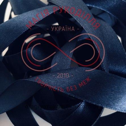 Стрічка Peri атласна 16мм (Китай) - №174 відтінки синього