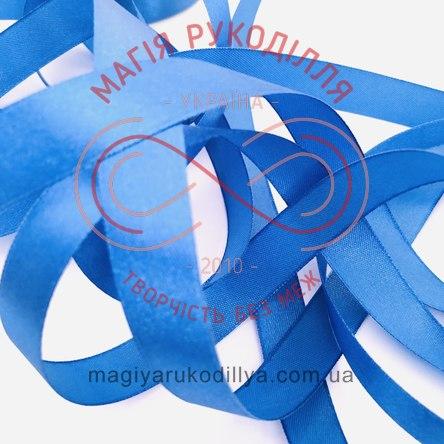 Стрічка Peri атласна 16мм (Китай) - №179 відтінки синього