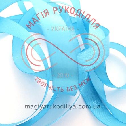 Стрічка Peri атласна 16мм (Китай) - №118 відтінки блакитного