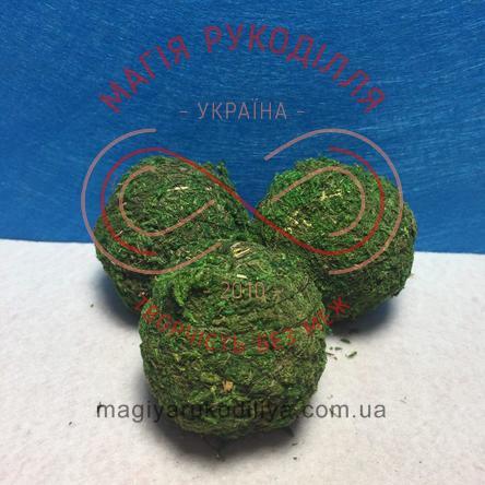 Кулі з моху d5см - зелений