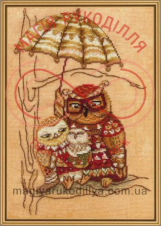 Набір для вишивання нитками Під парасолькою - СР4220-У/Р