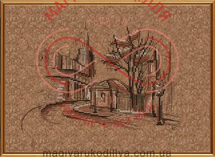 """Набор для вышивания нитками """"Городские пространства"""" - КР4007 / Р"""