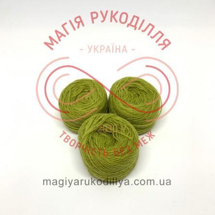 Нить акриловая для вышивания - №038 / 936 оттенки зеленого