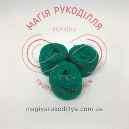 Нить акриловая для вышивания - №048 оттенки зеленого