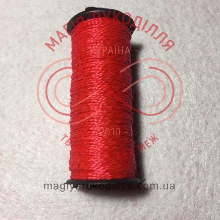 Нитка взуттєва №375 - відтінки червоного