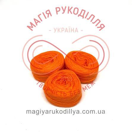 Нитка акрилова для вишивання - №057/839 відтінки помаранчевого