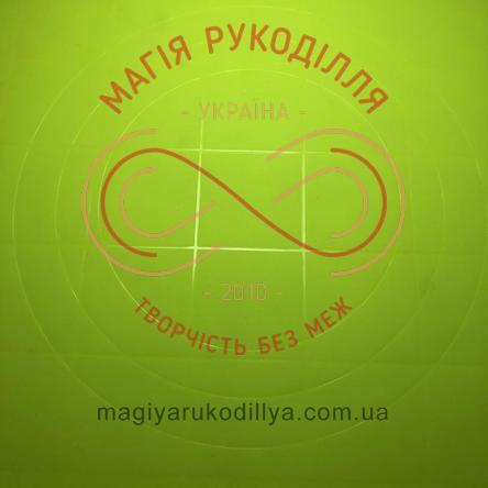 Килимок для тіста силіконовий 38*28см (з розміткою)