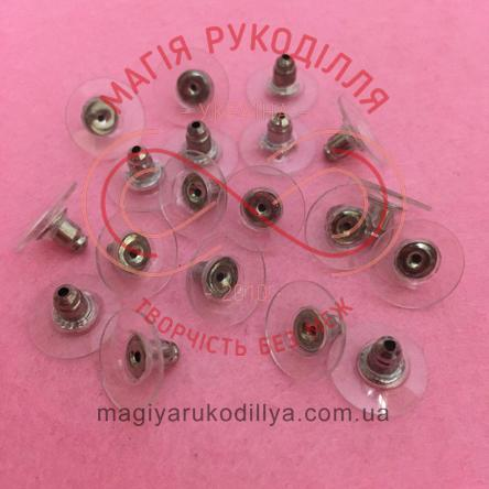 Фіксатор для швензи d1см*0,6см*d0,1см - силіконовий металева серцевина