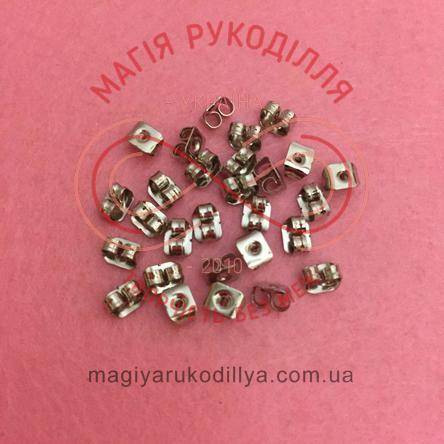 Фіксатор для швензи сталь 0,4см*0,3см*d0,1см - сріблястий