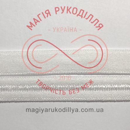 Обробна резинка ширина 7мм - 07W1499 білий