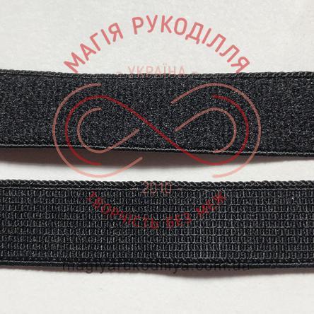 Бретель для бюстгалтера ширина 11мм - 11W487 чорний