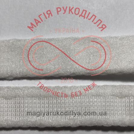 Корсетна тесьма ширина 11мм - 11W11132 білий