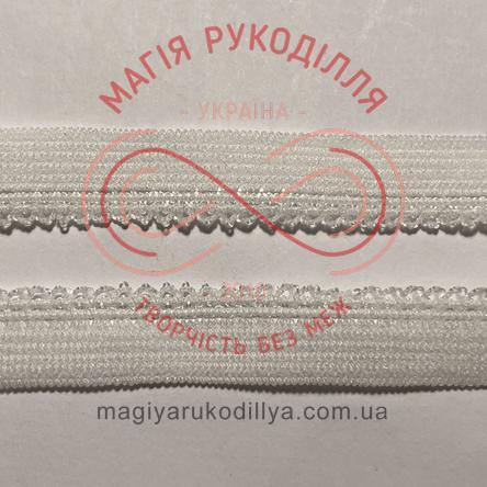 Обробна окантовочна резинка ширина 9мм - 09K11585 білий