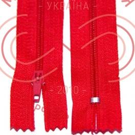 Молния для платья (Китай) 50см (тип 3) - оттенки красного