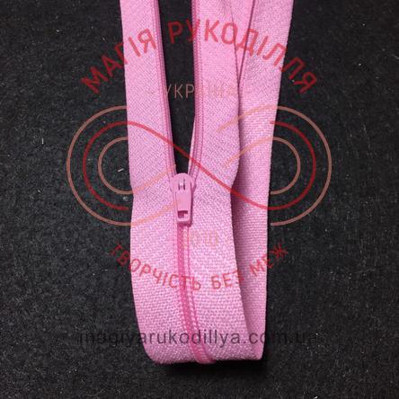 Молния для платья (Китай) 50см (тип 3) - оттенки розового
