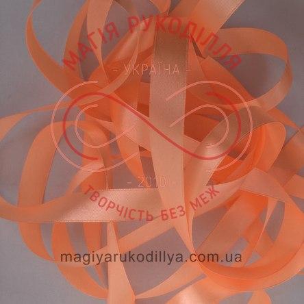 Стрічка Peri атласна 26мм (Китай) - №053 відтінки абрикосового