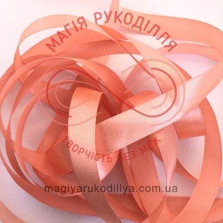 Стрічка Peri атласна 26мм (Китай) - №057 відтінки помаранчевого