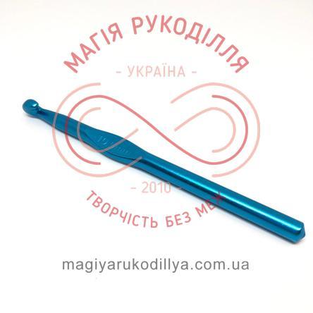 Гачок для в'язання метал без ручки h15см d10,0 - кольоровий