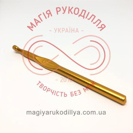 Гачок для в'язання метал без ручки h15см d9,0 - кольоровий
