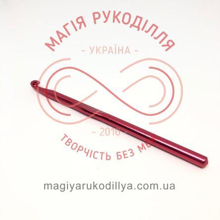 Гачок для в'язання метал без ручки h15см d7,0 - кольоровий