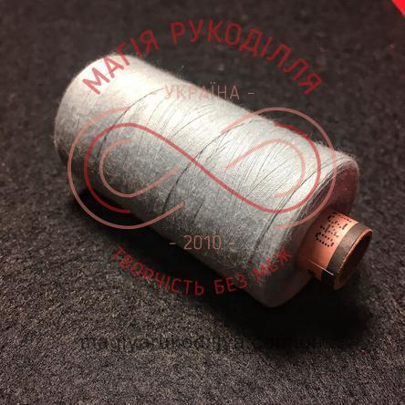 Нитка Amann Saba 120 універсальна - №6251 відтінки сірого