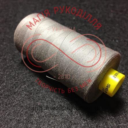 Нитка Gutermann 120 універсальна - №495 відтінки сірого