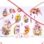Декупажные карты TO-DO (рисовая бумага) 50см * 34см - 99158