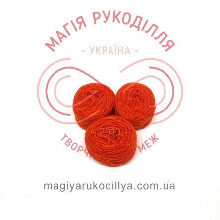 Нить акриловая для вышивания - №073 / 007 оттенки красного