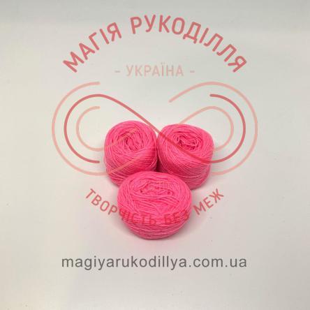 Нитка акрилова для вишивання - №090/735 відтінки рожевого