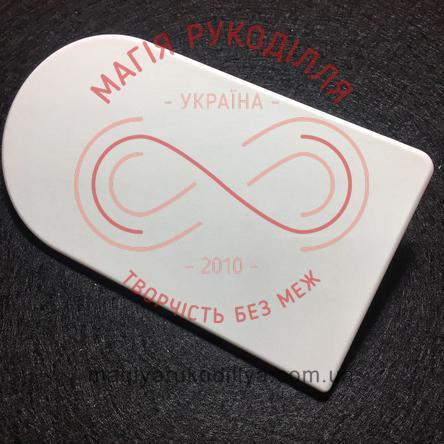 Кондитерський інструмент прасочка для мастики 14,5см*8см - А318