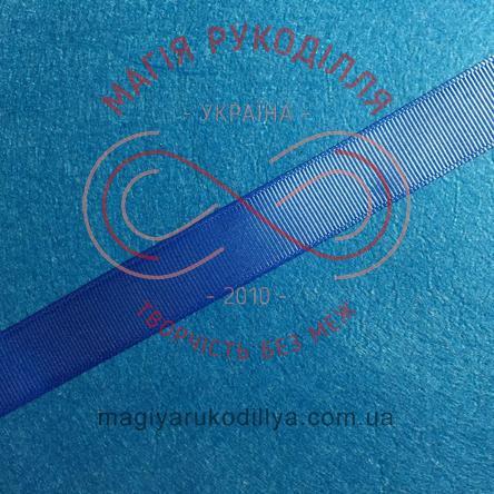 Стрічка репсова 20мм - синій