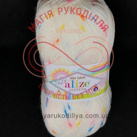 Пряжа Sekerim Mini Colors (Alize Туреччина) - 6263