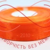 Стрічка органза 24мм - помаранчевий