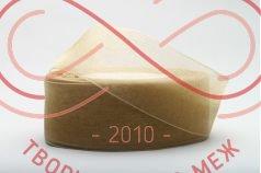 Стрічка органза 24мм - світлий коричневий