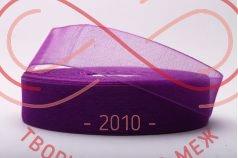 Стрічка органза 24мм - фіолетовий