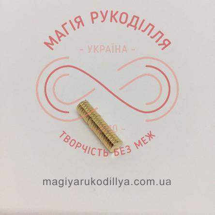 Магніт неодимовий d5мм h1мм - золотистий